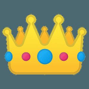 Crown emoji clipart