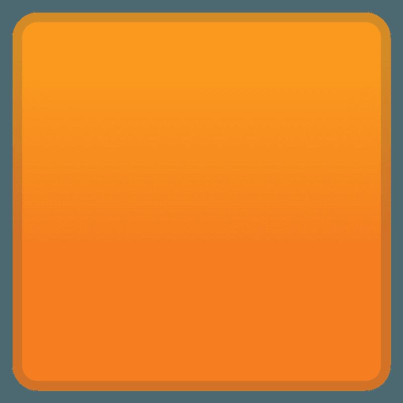 Оранжевый квадрат эмодзи клипарт. Бесплатная загрузка. | Creazilla