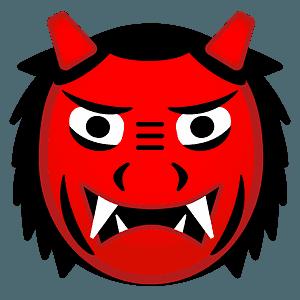 Ogre emoji clipart