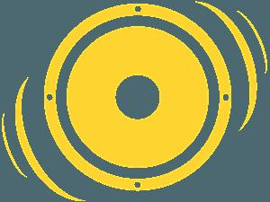 Sound Speaker silhouette