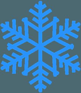 雪片 シルエット