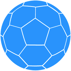 Ballon de foot silhouette