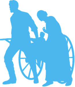 Pioneers silhouette