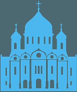 Ortodoksikirkko siluetti