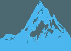 Berg silhuett