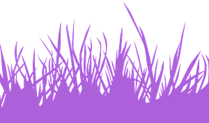 Gras vektor silhouette