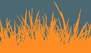 Silueta de Hierba vector