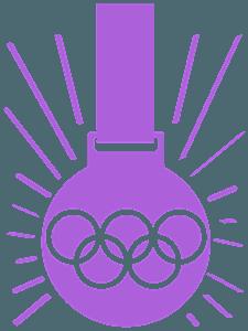 Золотая медаль - Векторный Силуэт