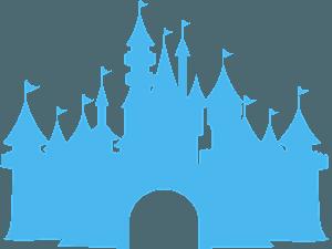 Château Disney silhouette