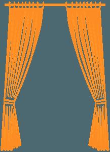 Curtain silhouette
