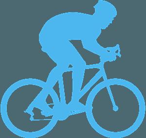 Велоспорт - Векторный Силуэт