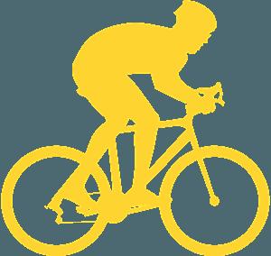 Ciclismo silhouette