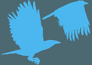 Corbeaux silhouette
