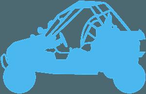 Silueta de Buggy vector