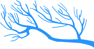 Zweige vektor silhouette