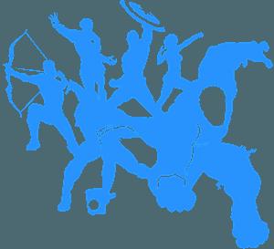 Avengers vector silhouet