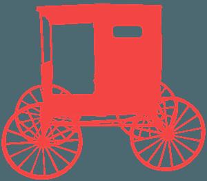 Carrozza Amish silhouette