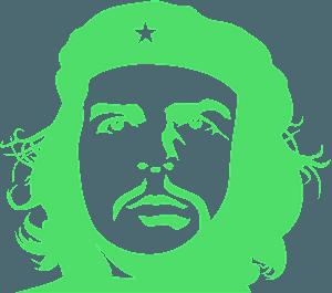 Че Гевара Трафарет - Векторный Силуэт