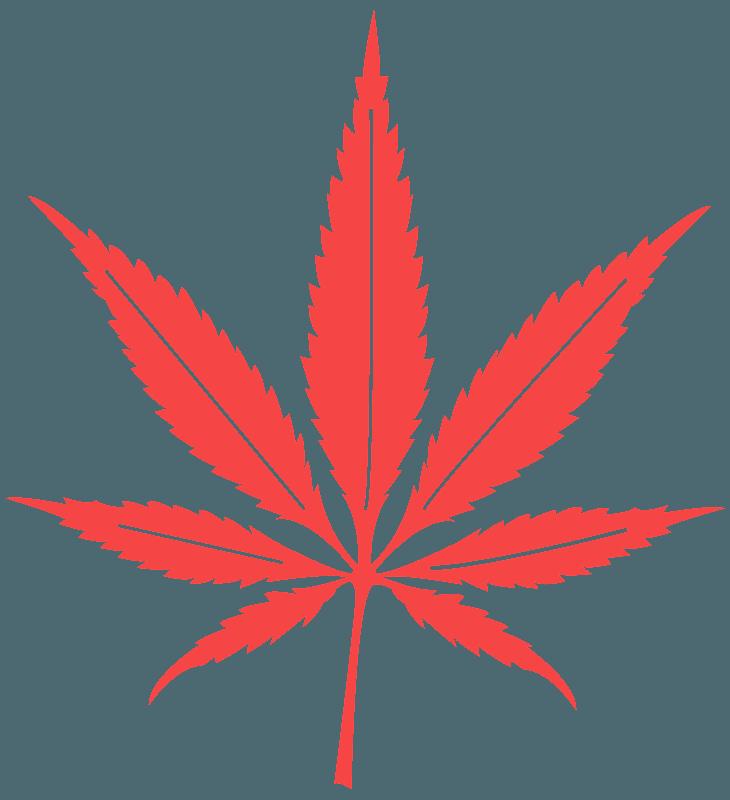 Silueta De Hoja De Cannabis Vectores De Siluetas Gratuitos
