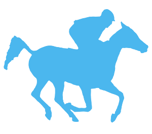 Arabian Racehorse silhouette