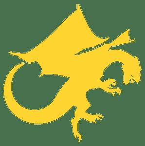 Dragon vektor silhouette