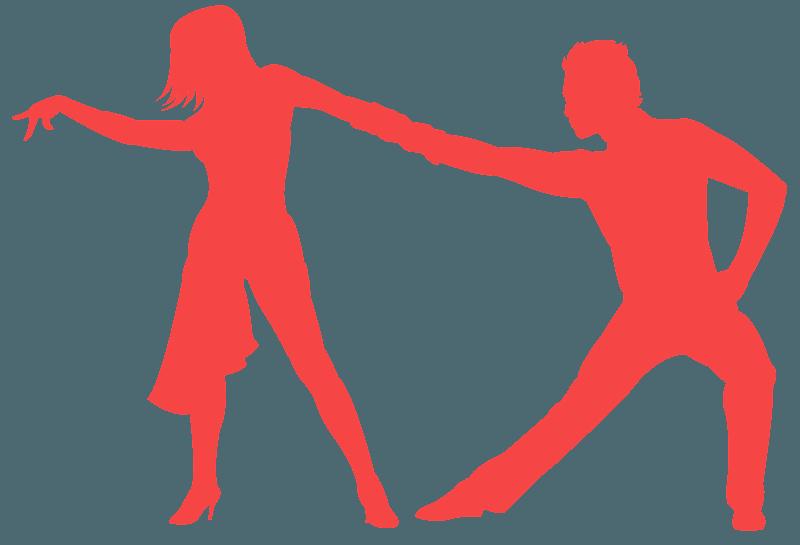 Latin Dance Silhouette Free Vector Silhouettes Creazilla