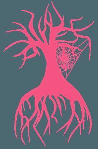 Pająk - sylwetka wektorowa