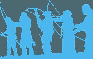 Archers silhuett