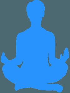 Йога - Векторный Силуэт