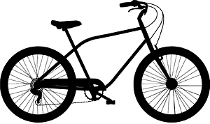Bicycle silhuett