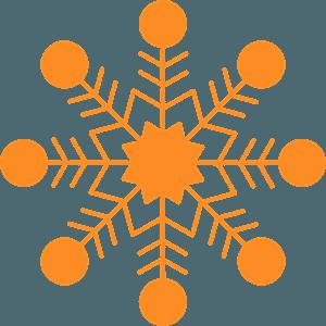Snowflake vektor silhouette