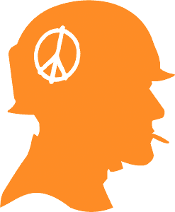 Vietnam Soldier Profile silhouette