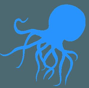 Octopus siluetti