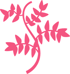 Leaves and Branches vector silhouet