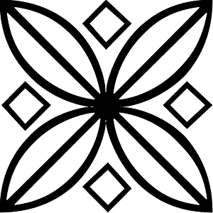 Mandala silhouette