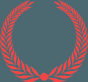 Laurel wreath vektor silhouette