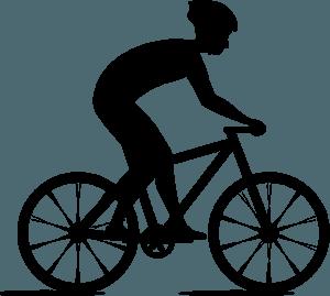 Bicyclist - Векторный Силуэт