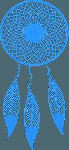 Dreamcatcher silhouette