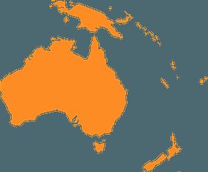 Oceania silhouette