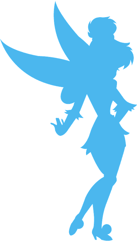 photograph about Tinkerbell Silhouette Printable identify Tinkerbell silhouette - Free of charge Vector Silhouettes Creazilla