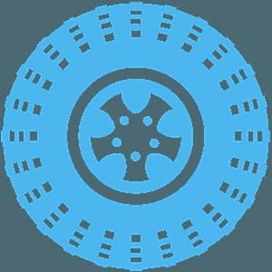 Reifen vektor silhouette