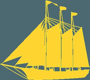 Tall Ship siluetti