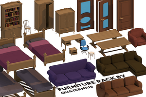 Furniture Pack 3D Model