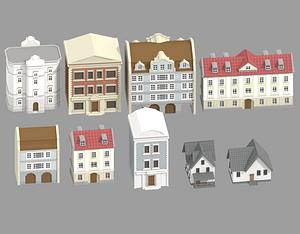 Buildings 3D-model