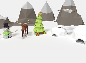 Winter Pack 3D Model