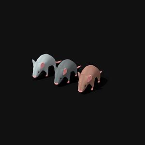 Rat Pack 3D Model
