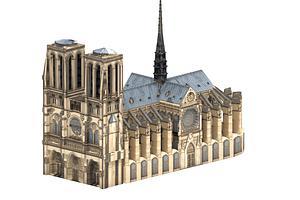 Собор Паризької Богоматері 3D-модель