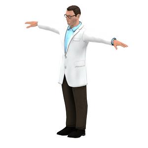 Tiedemies 3D-malli