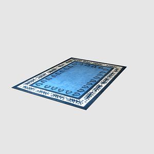 카펫 3D 모델