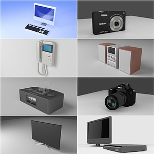 Electronics 3D Model